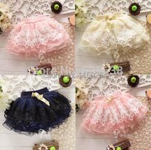 Free shipping Baby Tutu skirt 2014 New Diaper Cake Tutus Girls Skirts Children Short Skirts(China (Mainland))