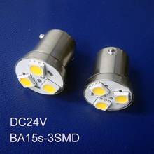 High quality 24V BA15s P21W PY21W 1156 1141 R5W BAU15s Goods Van Led Rear Light,Truck Led Side Turn Signal free shipping 2pc/lot(China (Mainland))