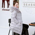 New winter coats womens jacket fashion Down padded winter coat long Windbreaker