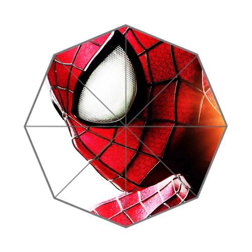 Fahsion Hot selling Free shipping superhero spiderman Auto Foldable Umbrella umbrella kids(China (Mainland))