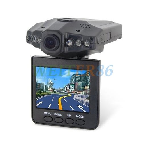 "2.5"" TFT LCD screen Car DVR H198 Video Recorders 270 degree screen rotated Car Black Box with 6 LED IR Night Vision Camcorder(China (Mainland))"