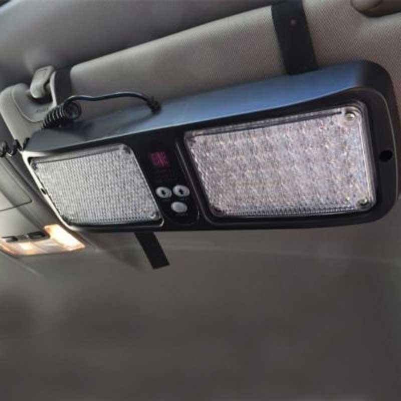 truck emergency 86 led strobe light visor light visor strobe light. Black Bedroom Furniture Sets. Home Design Ideas