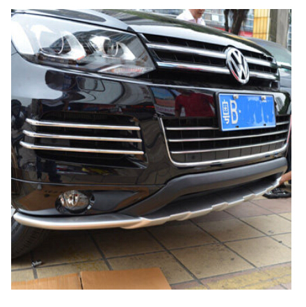 Fog lamp grille fog lamp shade specially refitted net fog lamp decoration car accessories for Volkswagen Touareg<br><br>Aliexpress