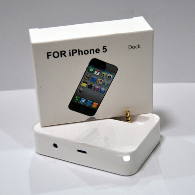 original charging stand audio docking station for iphone 5. Black Bedroom Furniture Sets. Home Design Ideas