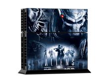 Aliens vs Predator PS4 Skin – enthält 1 X PS4 Konsolen-Skin Set + 2 X Controller-Skin Sets