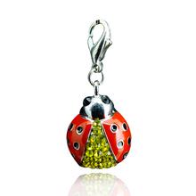 Fashion Charms Pendants ladybird Aninals Alloy Pendants Girl Women DIY Jewelry(China (Mainland))