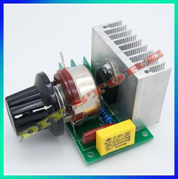 freeshipping 3800W SCR Voltage Regulator Dimming Light Speed Control-10000011