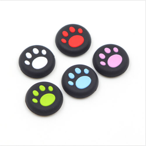 Silicone Cat Claw Joystick Caps Controller Analog Grip Thumbstick Buttons Cover Shell For Sony PS4 PS3 Thumb Stick Replacement