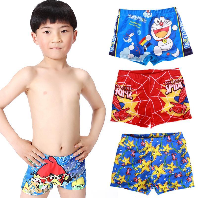 d95674847623b 2015 Boys Summer Wear Trunks Baby Boys Swimwear Kids Swimming Trunks  Cartoon cute Children Swimsuit Child shorts swim suit boys