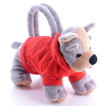 Plush Bags for Kids Stuffed Animal Toys Bags Handbag for Girls Kids Gifts Dogs Bags 3D bags for Children