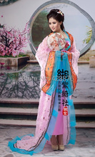 ZZB016  Miss Tang dynasty  tailing Princess Royal fairy costume stage costume dance studio photo Cosplay Hanfu Chinese clothing