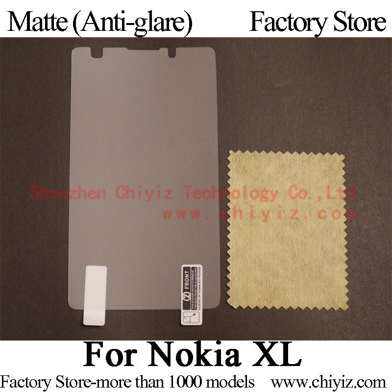 Matte Anti glare Frosted LCD Screen Protector Guard Cover Protective Film Shield For Nokia XL Dual SIM / Nokia XL 4G TD-LTE(China (Mainland))