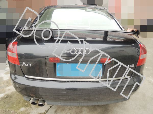 "CARBON FIBER UNIVERSAL 51"" A4 A5 A6 GT REAR WING TRUNK SPOILER(China (Mainland))"