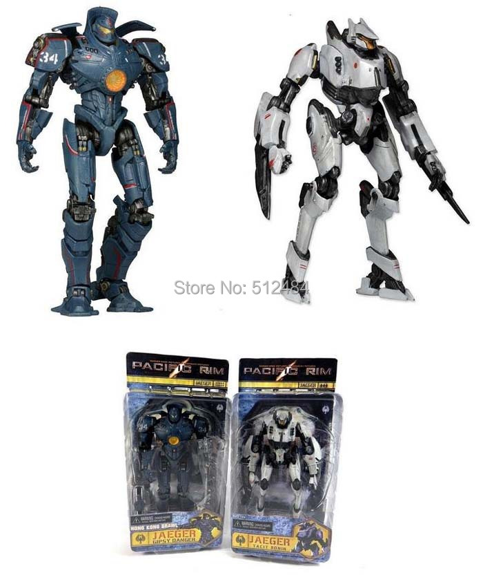 EMS 20 Pcs/lot 7inch NECA Tacit Ronin Gipsy Danger Robot Pacific Rim Jaeger model Statue Model Kit Toy(China (Mainland))
