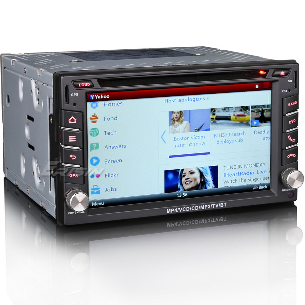 """6.2"""" Touch Screen Double Din Car DVD 2 Din Car Radio Two Din Car GPS with Dual Core 800MHz CPU & 256MB RAM & WIFI/3G Function(China (Mainland))"""