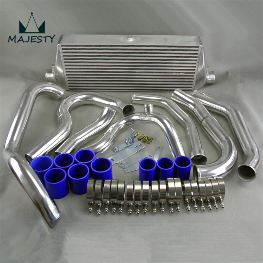 FRONT MOUNT INTERCOOLER PIPE KIT FOR subaru WRX IMPREZA GDA GDB 00-05 NEW brand new blue<br><br>Aliexpress