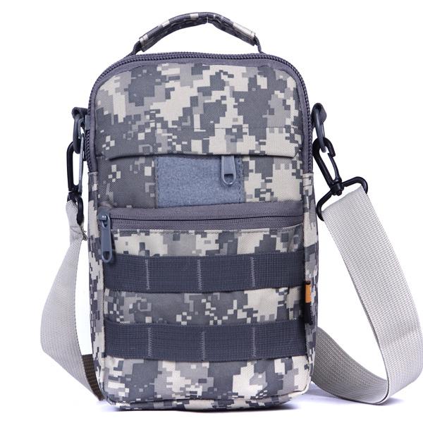 2015 factory direct wholesale outdoor travel shoulder computer bag Messenger bag bversatile camouflage 174(China (Mainland))