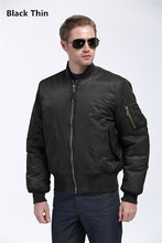 Freelee 2016 High Quality Ma1 Thin Style Army Green Military motorcycle Ma-1 Flight Jacket Pilot Air Force Men Bomber Jacket(China (Mainland))