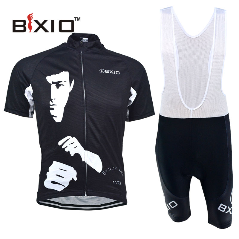 2016 BXIO Brand Cycling Jerseys Maillot Ciclismo Hombre Summer Pro Team Bicycle Clothing Mountain Black Bike Clothes BX-0209H102(China (Mainland))