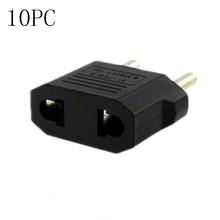 Malloom 2016 Nueva Llegada 10 UNIDS EE. UU./AU de LA UE Cargador Adaptador Convertidor de Viaje AC Plug Power Envío envío libre #025