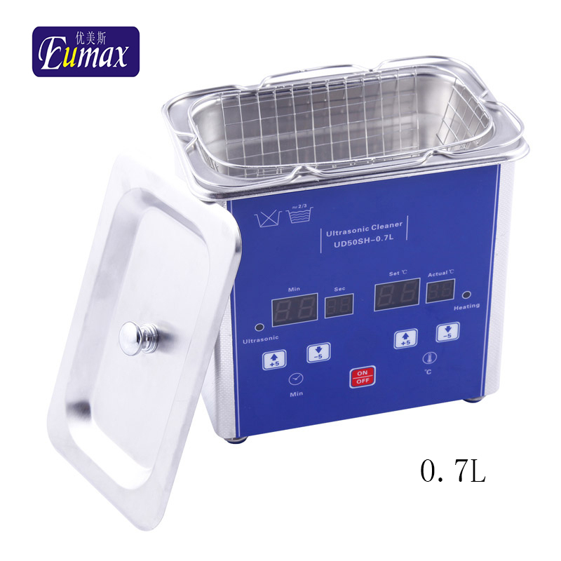 industrial ultrasonic cleaning machine UD50SH-0.7L ultrasonic jewellery cleaner with heating and timer(Hong Kong)