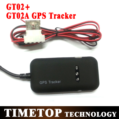 20pcs/lot GT02A/GT02+ GPS tracker device system Real Time 4 bands GSM/GPRS/GPS car/motor/trucker THINNER THAN TK-102 TK-103(China (Mainland))
