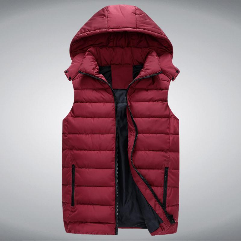 new autumn winter men solid color warm down cotton vest male outwear coat jacket waistcoat vestidosОдежда и ак�е��уары<br><br><br>Aliexpress