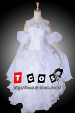 Buy Free Shipping! Code Geass Lelouch Rebellion Euphemia Li Britannia/Euphy White Lolita Dress Cosplay Costume for $128.00 in AliExpress store