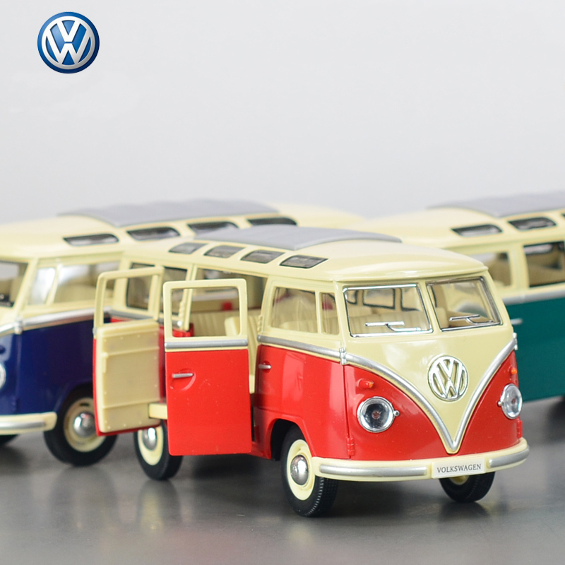 Hot Sale volkswagen VW bus 1:24 Alloy Diecast Models Car Toy Collection For Boy Children As Gift brinquedos meninas(China (Mainland))