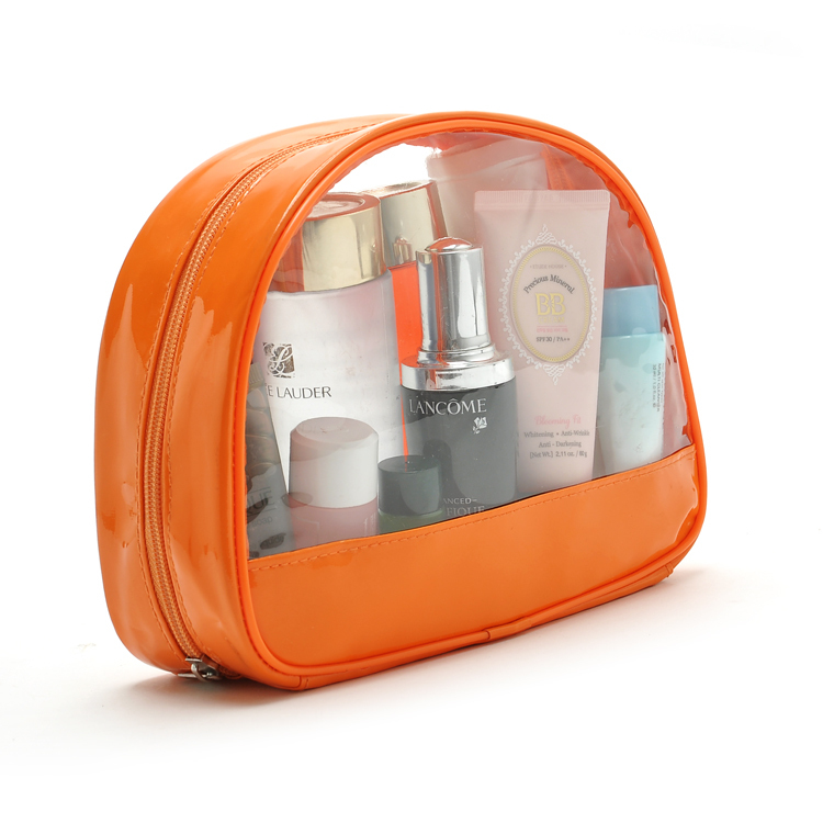 Clear Travel Toiletry Bag Transparent PVC Made(China (Mainland))