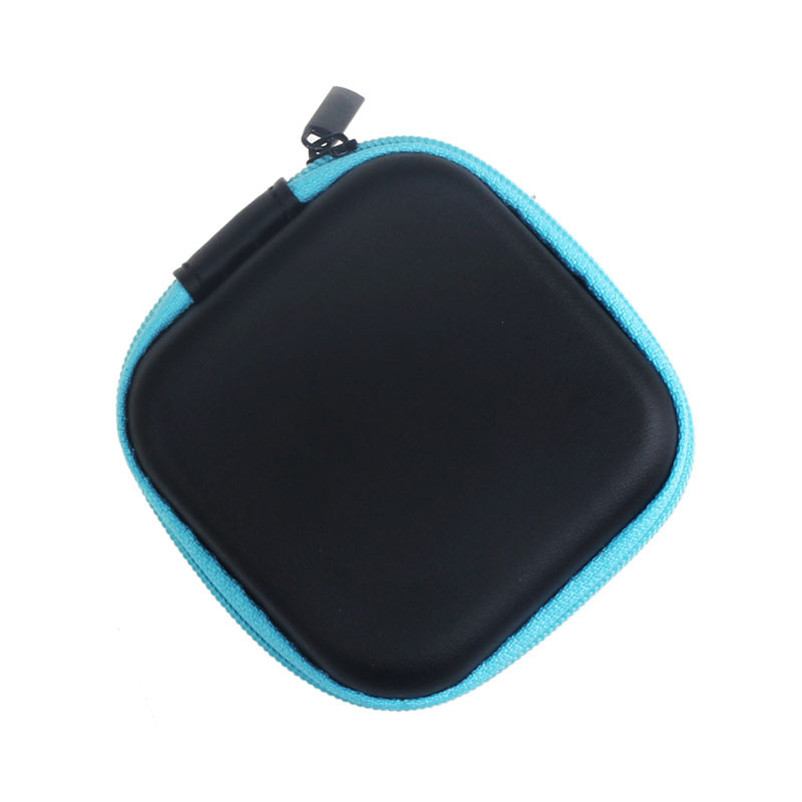 Factory Price Portable Zipper Storage Bag Carrying Case for Hard Keep Earphones SD Card Area Freeshipping & Wholesale(China (Mainland))