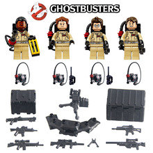 GhostBuster Minifigures Building Block Toys Raymond Stantz Peter Venkman Action Figure Bricks Compatible with Lego XINH 108-111(China (Mainland))