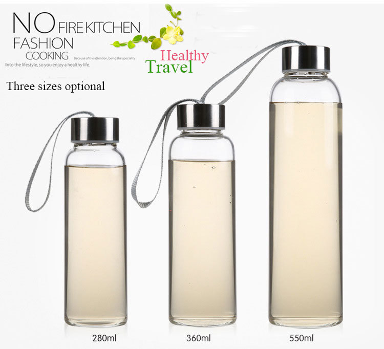 Creative Portable Sports Bottle With Bag Bottles For Water My Bottle Sports Nutrition Thermos Mug May Bottl 500ml(China (Mainland))