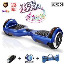 Wholesale Hover Board Scooter Bluetooth Speaker 2 Wheel Electric Standing Scooter ul Battery hoverboard overboard oxboard