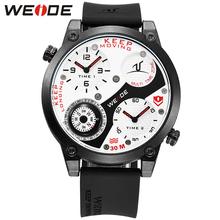 WEIDE Watches Men Luxury Brand Famous Large Dial Men's Military Sports Watches Men Quartz Wristwatch Clock Male Relogio UV1505