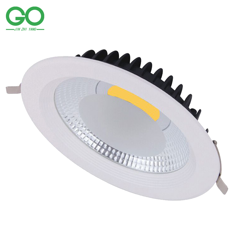 LED Downlight Recessed COB Ceiling Downlights Indoor Lighting 7W 12W 15W 20W 30W 110V 120V 220V 230V 240V Dimmable(China (Mainland))