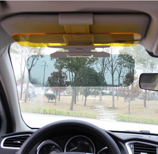 2016 Car Sun Visor Goggles For Driver Day Night Anti dazzle Mirror Sun Visors Clear View