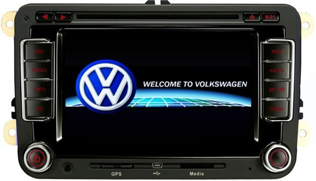 VW POLO car dvd player system