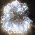 Battery 8M 50 LED Butterfly Garland Christmas String lights for Garden Outdoor Home Decor Wedding Party
