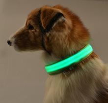 СВЕТОДИОДНЫЙ ошейник тедди поводок жгут милый pet ошейники для Маленьких собак ночь безопасности мигает световой glow поставок pitbull чихуахуа