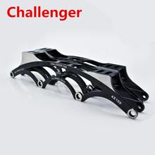 Challenger 4 X 90 mm 4 X 100 mm 4 X 110 mm Inline Speed Skating marco, 7050 alto fortalecer aleación de aluminio exceso de velocidad patines bastidor Base(China (Mainland))