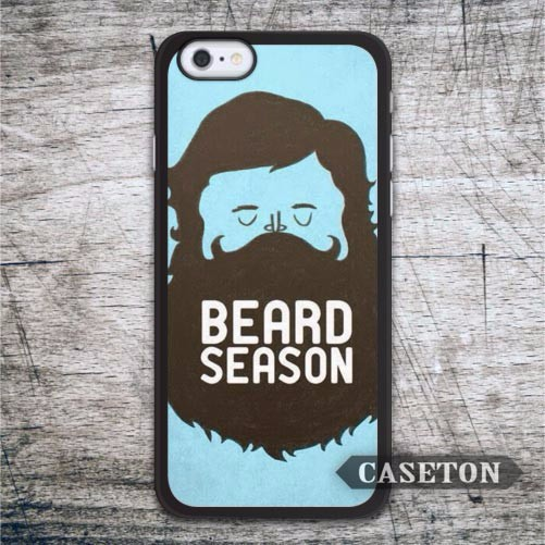 Beard Season On Blue Case For iPhone 7 6 6s Plus 5 5s SE 5c 4 4s and For iPod 5 Drop Shipping Wholesale Retail