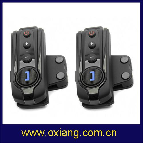 Bluetooth Headset Hands free Profiles Motorcycle Helmet Intercom FM radio - Ouxiang International Ltd. store