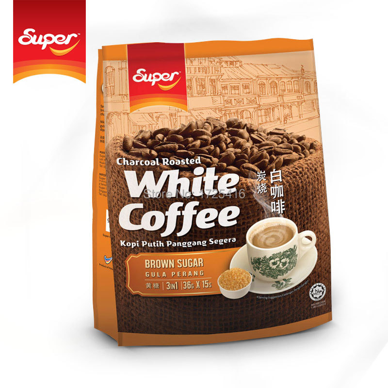 Malaysia imported super super Ipoh White Coffee 540g grilled free shipping