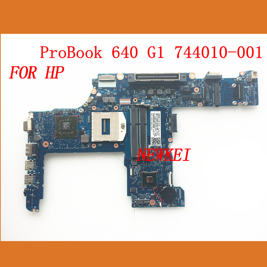 744010-001 744010-601 laptop motherboard FOR HP probook 640 G1 pc mainboard hm87 PM ,100% tested and working prefect!!!(China (Mainland))