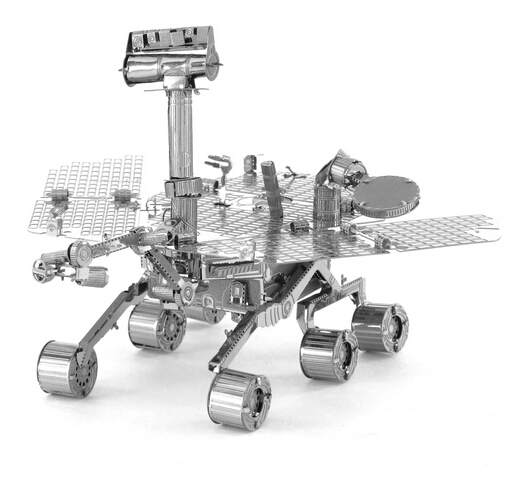 Creative Mars Rover 3D Puzzles Metal Model DIY Jigsaws Toys for Childern Educational Toys,Free Shipping(China (Mainland))