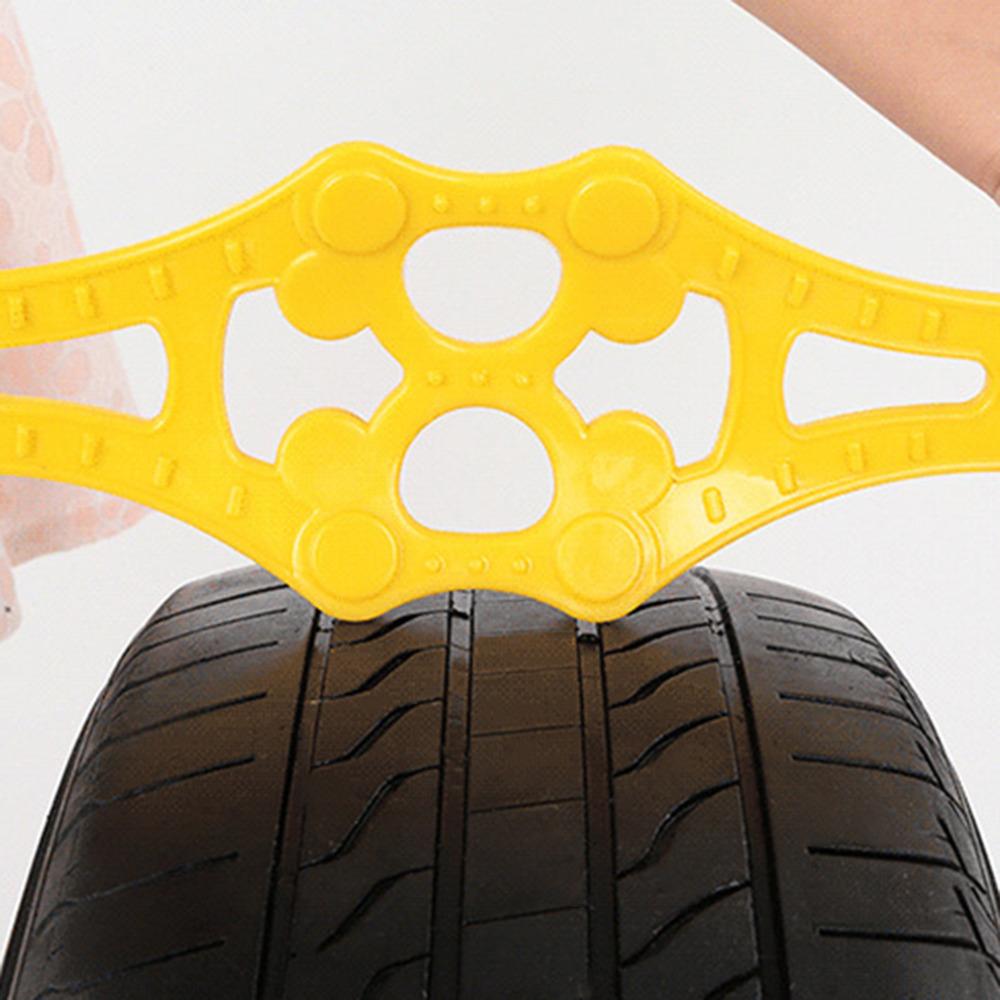 1pc TPU Car Winter Anti-Slip Chain Outdoor Vehicle Wheel Emergency Anti-skid Chain For Snow Mud Road New