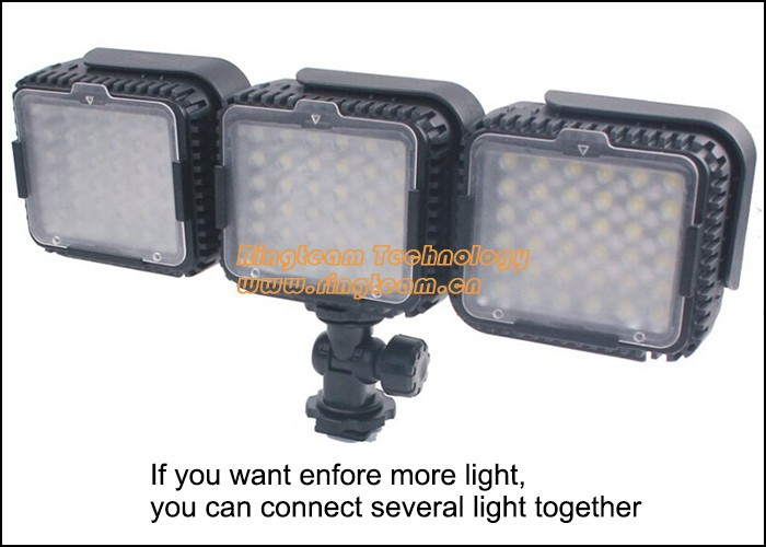 3Sets/Lot LUX360 CN-LUX360 Photographic Lighting News Lamp LED Light for Nikon Canon Camera Camcorder DV for Wedding News Media(China (Mainland))