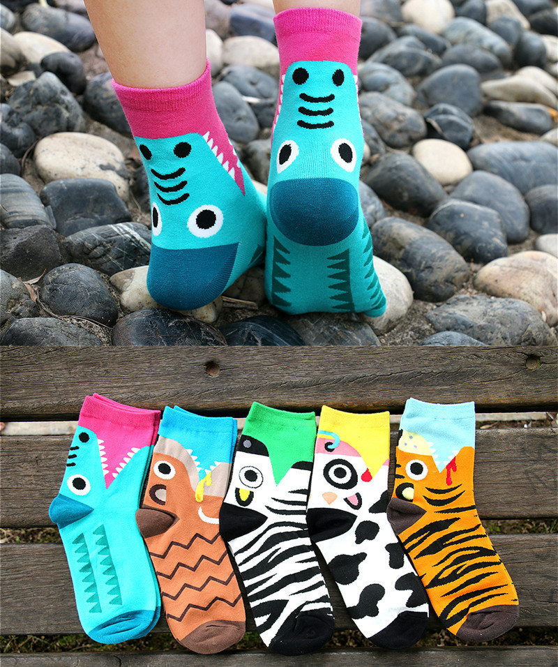 Japanese Cartoon Wind Ms Ms Cotton Socks Tube Socks