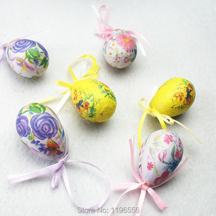 Styrofoam Christmas Easter Egg Easter Decoration Gift Party Supplies(China (Mainland))